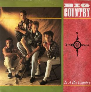 "Big Country - In A Big Country  (7"") (VG-/G-VG) (1)"